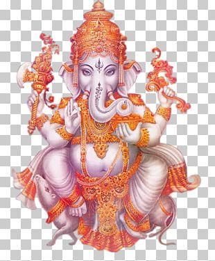 Ganesha God Tantra Deity PNG