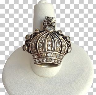 Ring Silver Gold Diamond Jewellery PNG