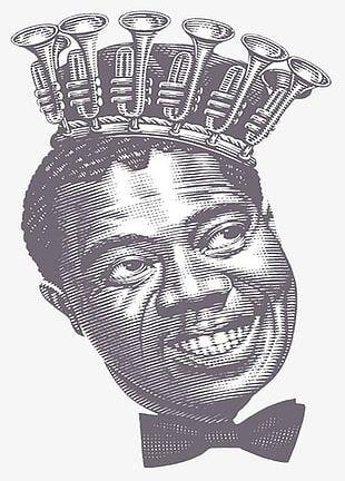 Simple Black Crown Illustrator PNG