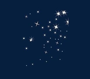 Flashing Star Decoration PNG