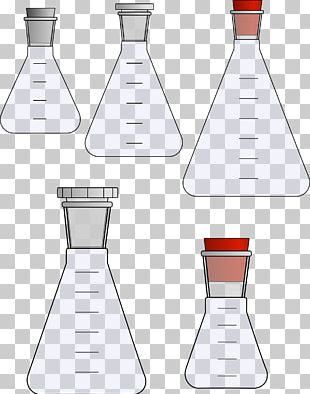 Laboratory Flasks Erlenmeyer Flask Test Tubes PNG