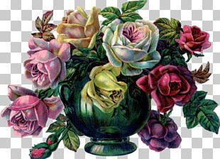 Vase Drawing Roses In A Bowl PNG