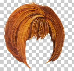 Wig Hairstyle Hair Coloring Long Hair PNG