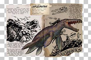 ARK: Survival Evolved Liopleurodon Allosaurus Reptile Spinosaurus PNG