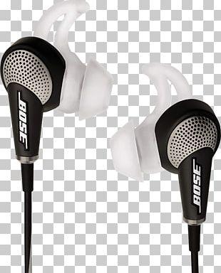Noise-cancelling Headphones Active Noise Control Bose QuietComfort 20 PNG