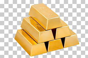 Gold Bar Ingot PNG