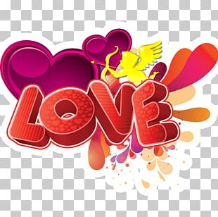 Love English Cupid Art PNG