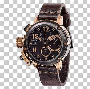 Automatic Watch U-boat Strap Omega SA PNG