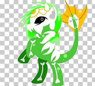 Carnivores Illustration Horse Green PNG