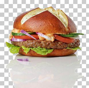 Hamburger Cheeseburger Veggie Burger Fast Food Breakfast Sandwich PNG