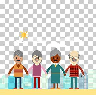 Old Age International Day For Older Persons Aged Care Grandparent PNG