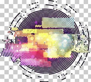 Color Gradient Circle PNG