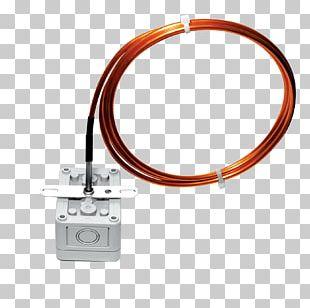 Electrical Cable Sonde De Température Sensor Ohm Copper PNG