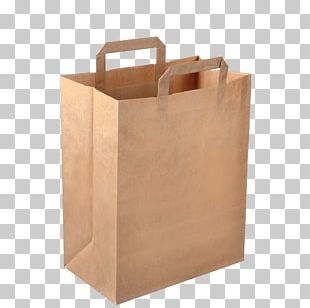 Paper Bag Kraft Paper Packaging And Labeling PNG
