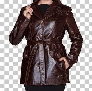 Leather Jacket Coat Fur Clothing PNG
