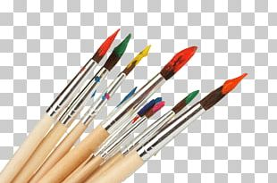 Gouache Paintbrush Painting PNG