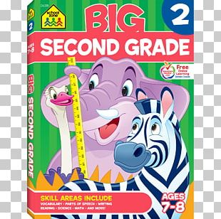 Big Second Grade Workbook Big Preschool Workbook School Zone PNG
