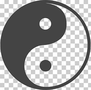 Yin And Yang Symbol Concept Taoism PNG