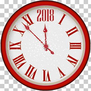 New Years Eve Clock PNG
