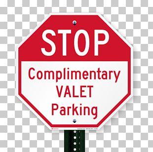 Car Park Valet Parking Sign PNG