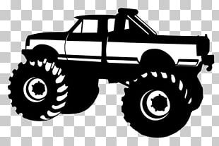 Car Pickup Truck Monster Truck Silhouette PNG