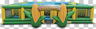 Inflatable Corn Maze Corn On The Cob Maize PNG