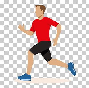 Running Cartoon PNG