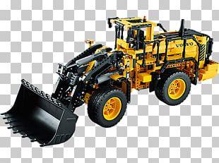 AB Volvo Lego Technic Amazon.com LEGO 42030 Technic Remote-Controlled VOLVO L350F Wheel Loader PNG