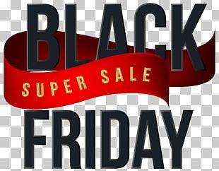 Black Friday Shopping PNG