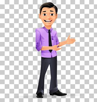 Businessperson Cartoon Character PNG