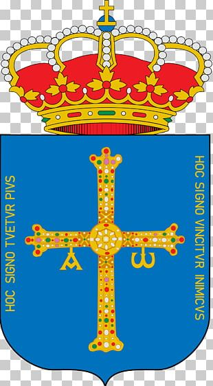 Oviedo Bañugues Escutcheon Victory Cross Coat Of Arms Of Asturias PNG