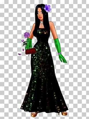 Gown Costume Design PNG