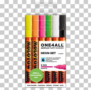 Marker Pen Acrylic Paint Color Paint Marker PNG