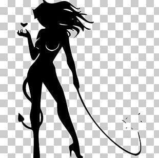 Devil Woman Drawing PNG