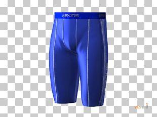 Swim Briefs Trunks Cobalt Blue Waist Shorts PNG