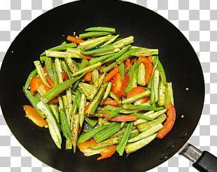 Okra Green Bean Vegetarian Cuisine Dietary Fiber Vegetable PNG