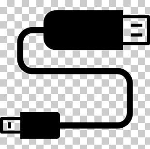 USB Flash Drives Computer Icons Electrical Cable PNG