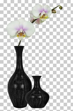 Flower Vase Watercolor Painting Floral Design PNG