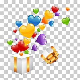 Balloon Heart Gift Euclidean PNG