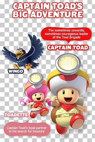 Captain Toad: Treasure Tracker Super Mario 3D World Nintendo Video Game Consoles PNG