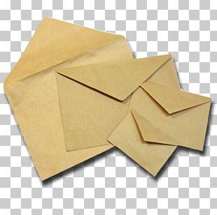 Kraft Paper Red Envelope Valve PNG