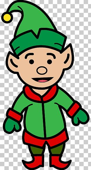 The Elf On The Shelf Santa Claus PNG