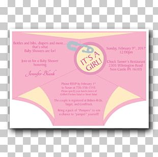 Wedding Invitation Diaper Greeting & Note Cards Baby Shower Infant PNG