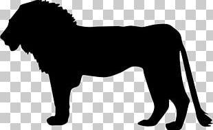 Lion Silhouette Cat PNG