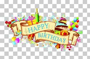 Birthday Cake Wedding Invitation Greeting Card PNG