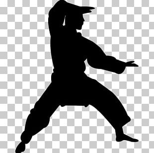 Chinese Martial Arts Karate Silhouette Kata PNG