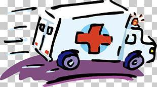 Ambulance First Aid Cartoon Health Care PNG