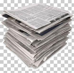 Free Newspaper News Media PNG