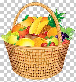 Basket Of Fruit Gift Basket PNG