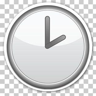 Emoji Clock Face Sticker Alarm Clocks PNG